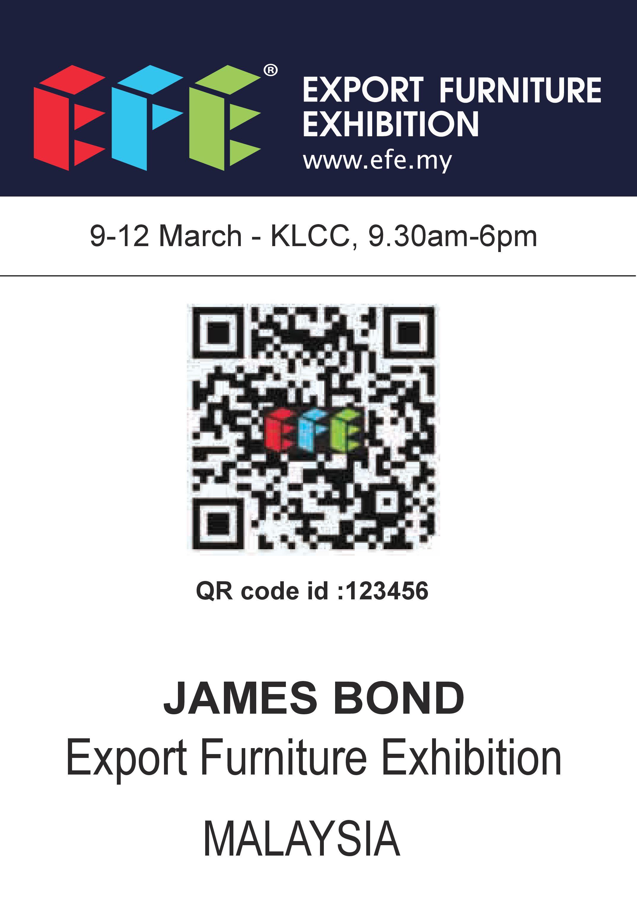 EFE Lifetime QR code – EFE Expo